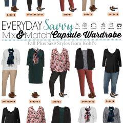 9.27 Capsule Wardrobe - Plus Size Fall Kohls VERTICAL
