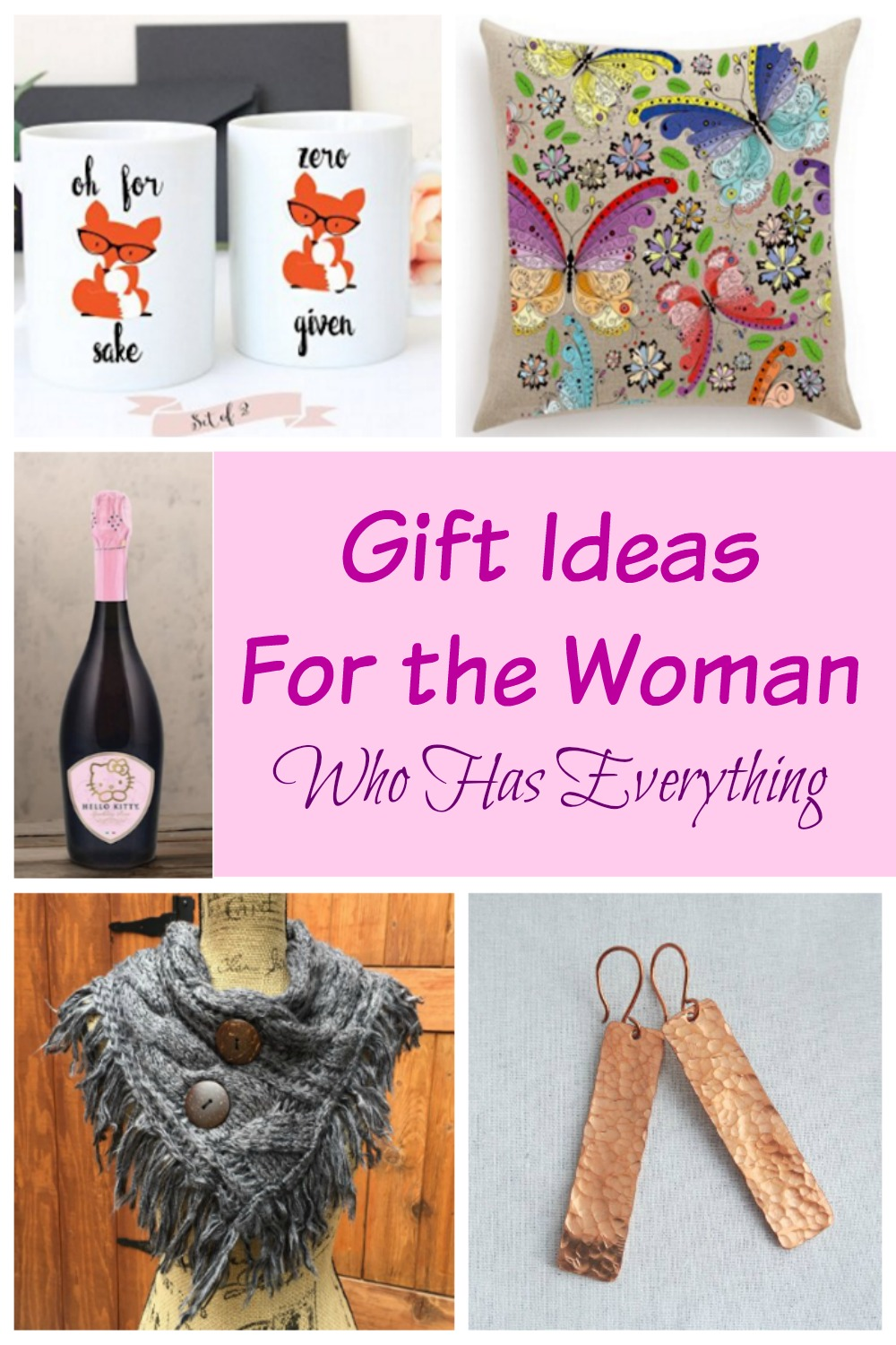 Gift ideas for the women who has everything Unique christmas gifts for couples who have everything