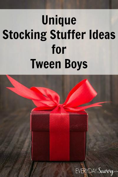 Unique stocking stuffer ideas for tween boys everyday savvy Stocking stuffer ideas 2016