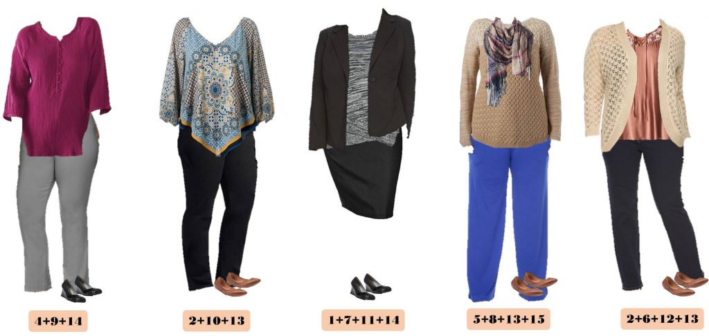 This fall plus size business casual capsule will have you looking great. This makes getting dressed for work easy. Mix and match for 15 outfits