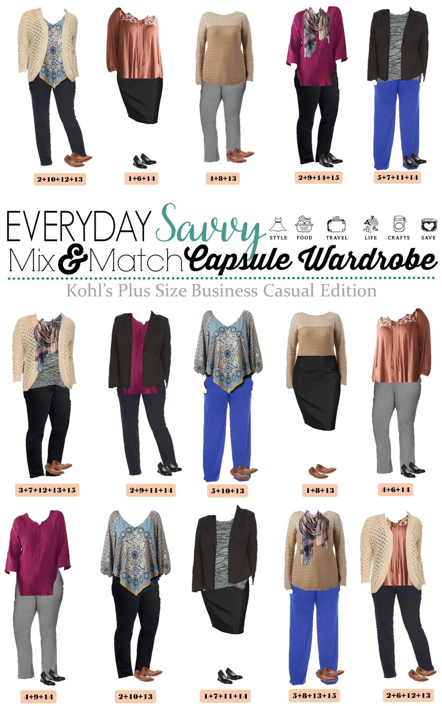Fall Plus Size Business Casual Capsule From Kohls