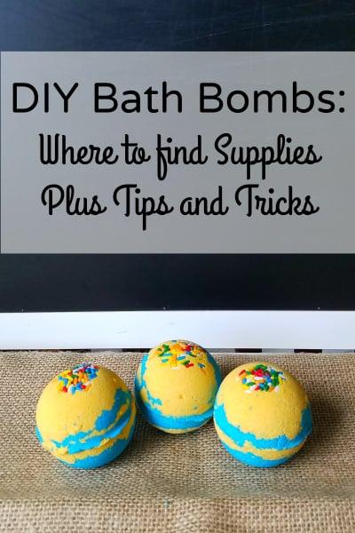 DIY Bath Bombs Fizzies Supplies Tips Tricks