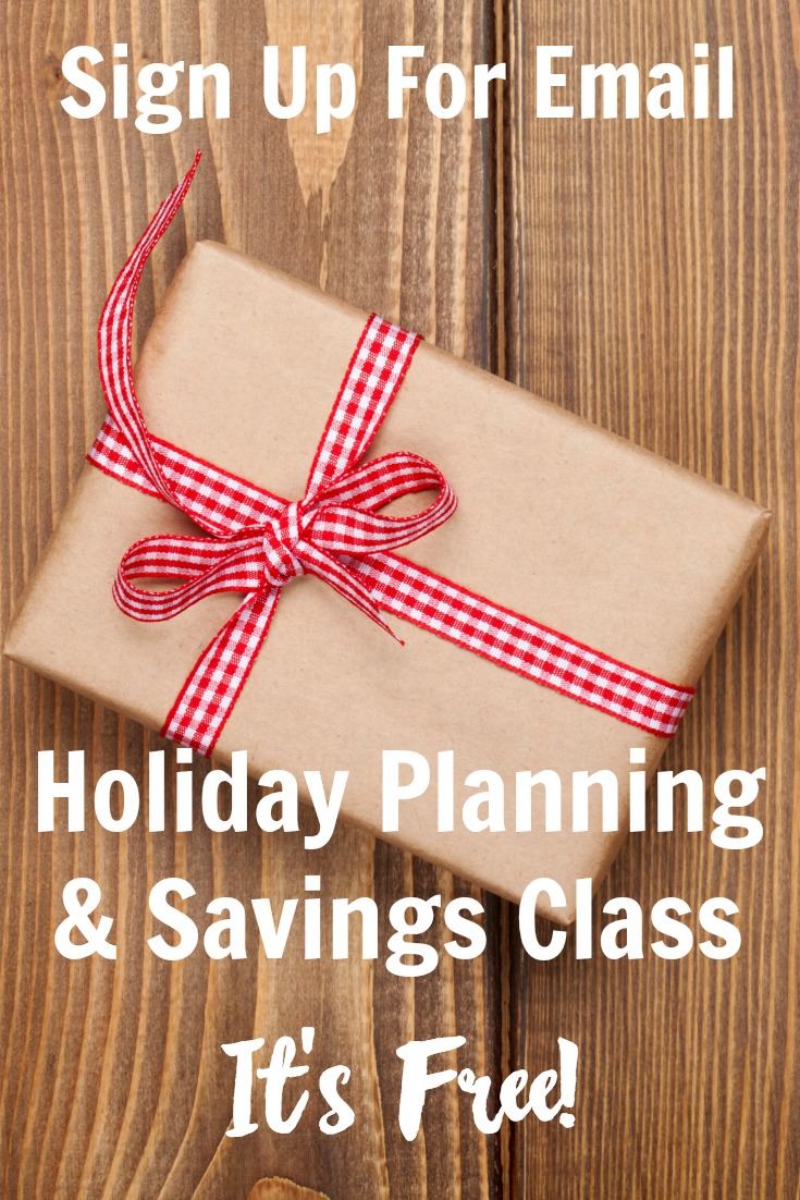 Sign Up For Our Free Holiday Savings and Planning Class! - Everyday ...