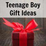 Teenage Boy Gifts – Great Ideas