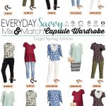 Target Spring Capsule Wardrobe – Mix and Match Outfit Ideas