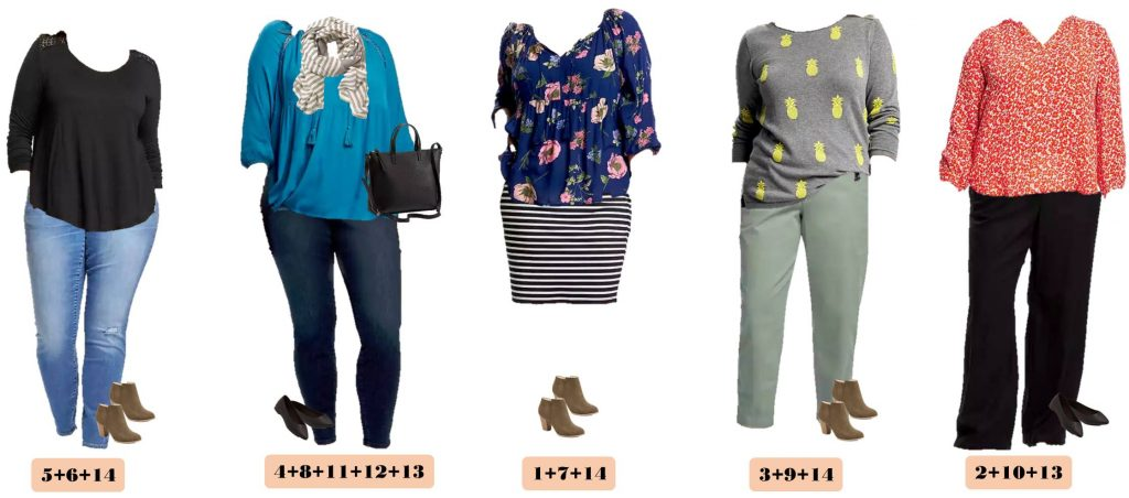 Old Navy Plus Size Capsule Wardrobe - Winter to Spring - Everyday ...