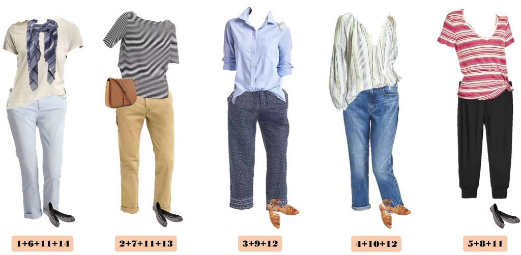 This Gap Spring Capsule wardrobe is comfy and casual but still put together. These mix & match outfits would be great for everyday or travel.