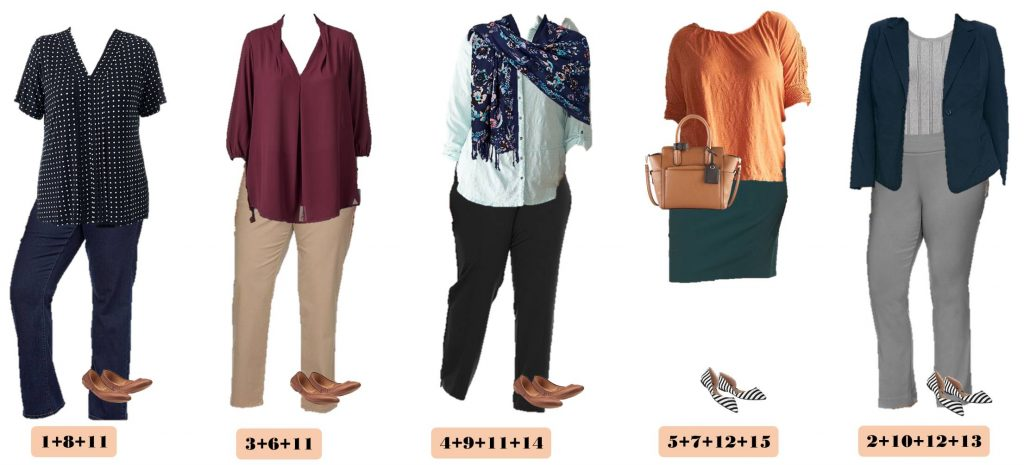 Check out this great Plus Size Business Casual Outfit Ideas For Spring from Kohls. These pieces make 15 mix & match outfits that make getting dressed easy.
