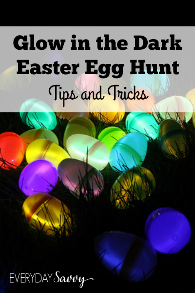 Tips, tricks and where to find supplies for a glow-in-the-dark Easter egg hunt