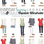 Nordstrom Spring Capsule Wardrobe – Mix & Match Outfits