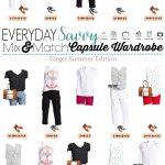 Target Summer Capsule Wardrobe – Mix & Match
