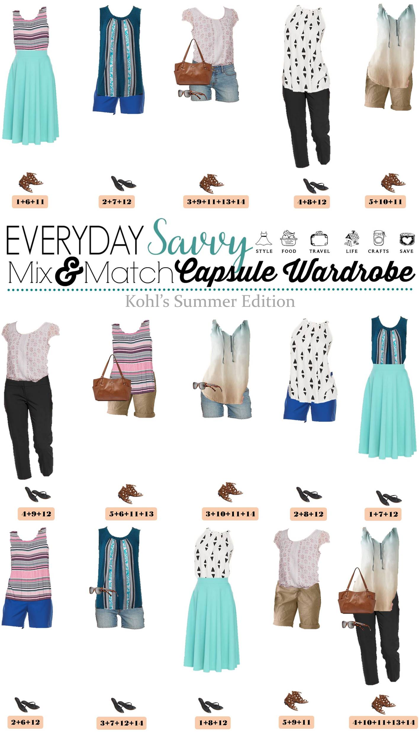 Kohls Summer Outfits Mix Amp Match Style Amp Easy Outfits