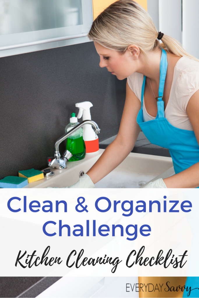 This kitchen cleaning checklist will help you deep clean, declutter and organize your kitchen. This checklist includes all the tasks we often forget.