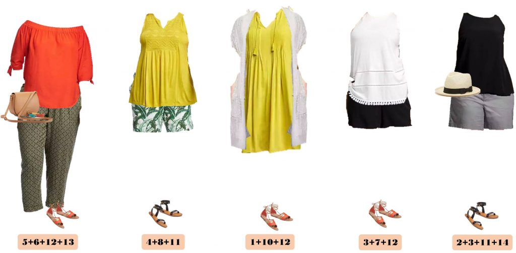I love this new Old Navy Plus Size Capsule Wardrobe for summer. It includes fun printed shorts, a dress, comfy tops and even a cross-body saddle bag.