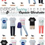 Girls Back To School Capsule Wardrobe – Mix and Match Outfits