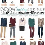 Kohls Business Casual Capsule Wardrobe for Fall