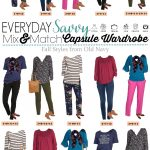 Old Navy Fall Capsule Wardrobe