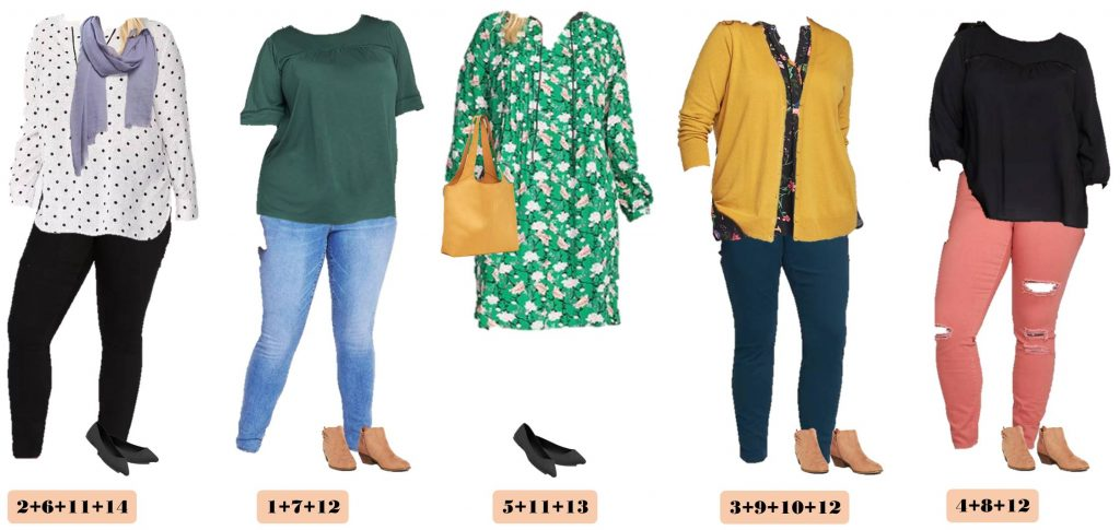 Old Navy Plus Size Capsule Wardrobe Fall Plus Size Outfit Ideas