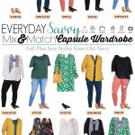 Old Navy Plus Size Capsule Wardrobe Fall – Mix & Match Outfits