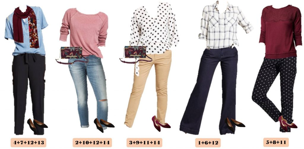 Fall is coming and here is another edition of our Mix and Match Target Fall Outfits. These pieces mix and match to make 15 Fall outfits.
