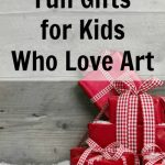 Great Gifts for Boys and Girls Who Love Art