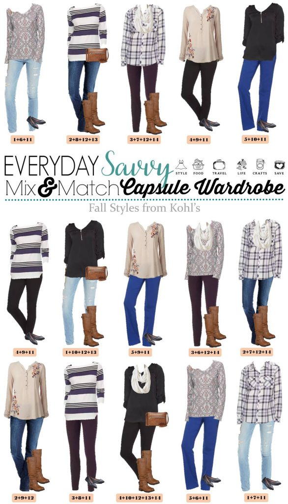 Love these mix and match cozy casual fall outfits. It is easy to look great each day and still be comfy. These are great for travel too!