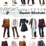 Loft Winter Capsule Wardrobe – Mix & Match Outfits