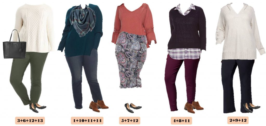 This new plus size business casual capsule wardrobe for winter makes it easy to get dressed each morning and look great. It is also perfect for travel.