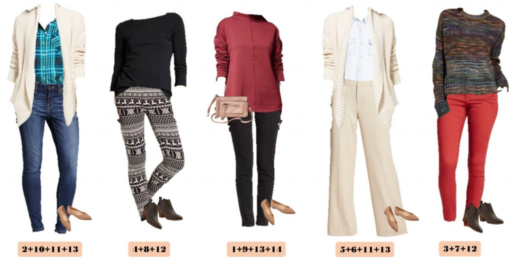 This new Target Winter Capsule Wardrobe makes getting dressed each morning easy! Cozy sweaters, leggings, plaid shirt, wide leg pants & more.