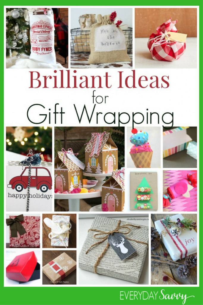 Love all these unique and fun gift wrapping ideas for Christmas. From really simple and brilliant upcycles to charming printable gift boxes & more!