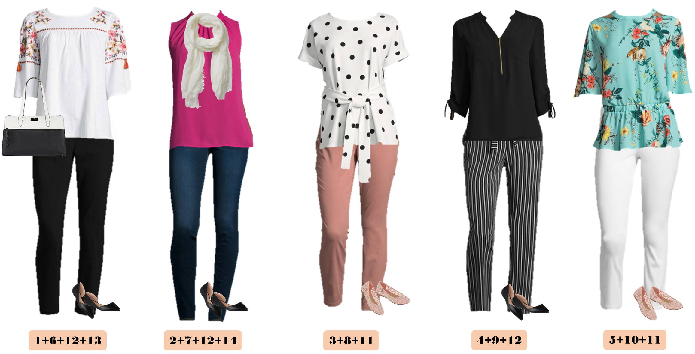 cute spring outfits from JCPenney