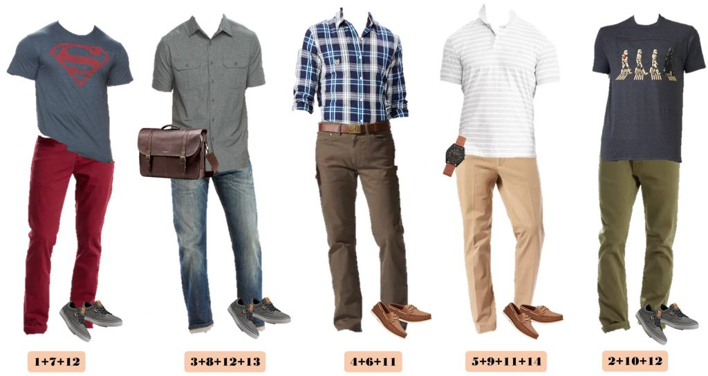 Kohls Men 39 S Capsule Wardrobe For Spring Casual Men 39 S Outfits