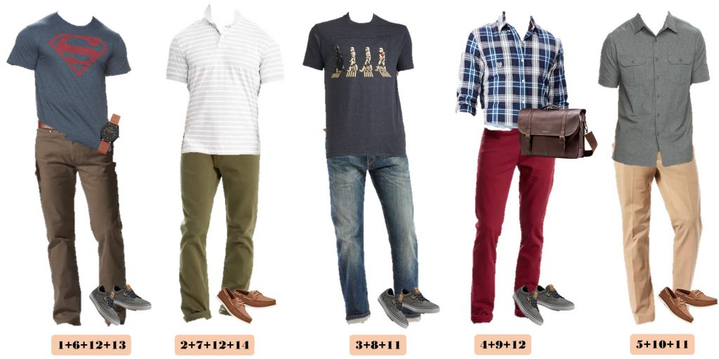 Mix and Match Spring Outfits for Men