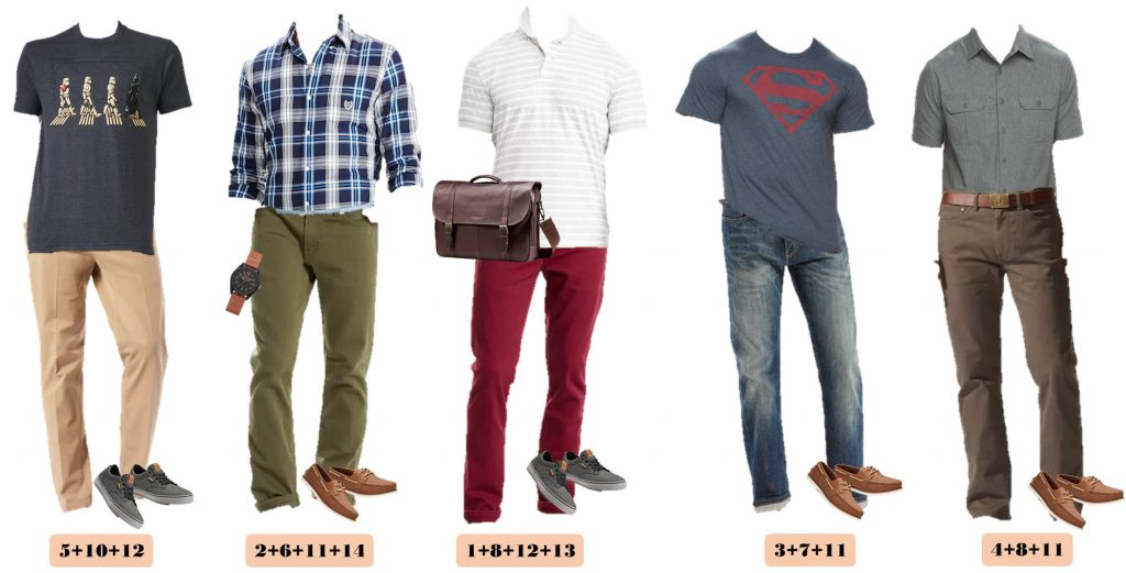 Men's Casual Outfits for spring from Kohls