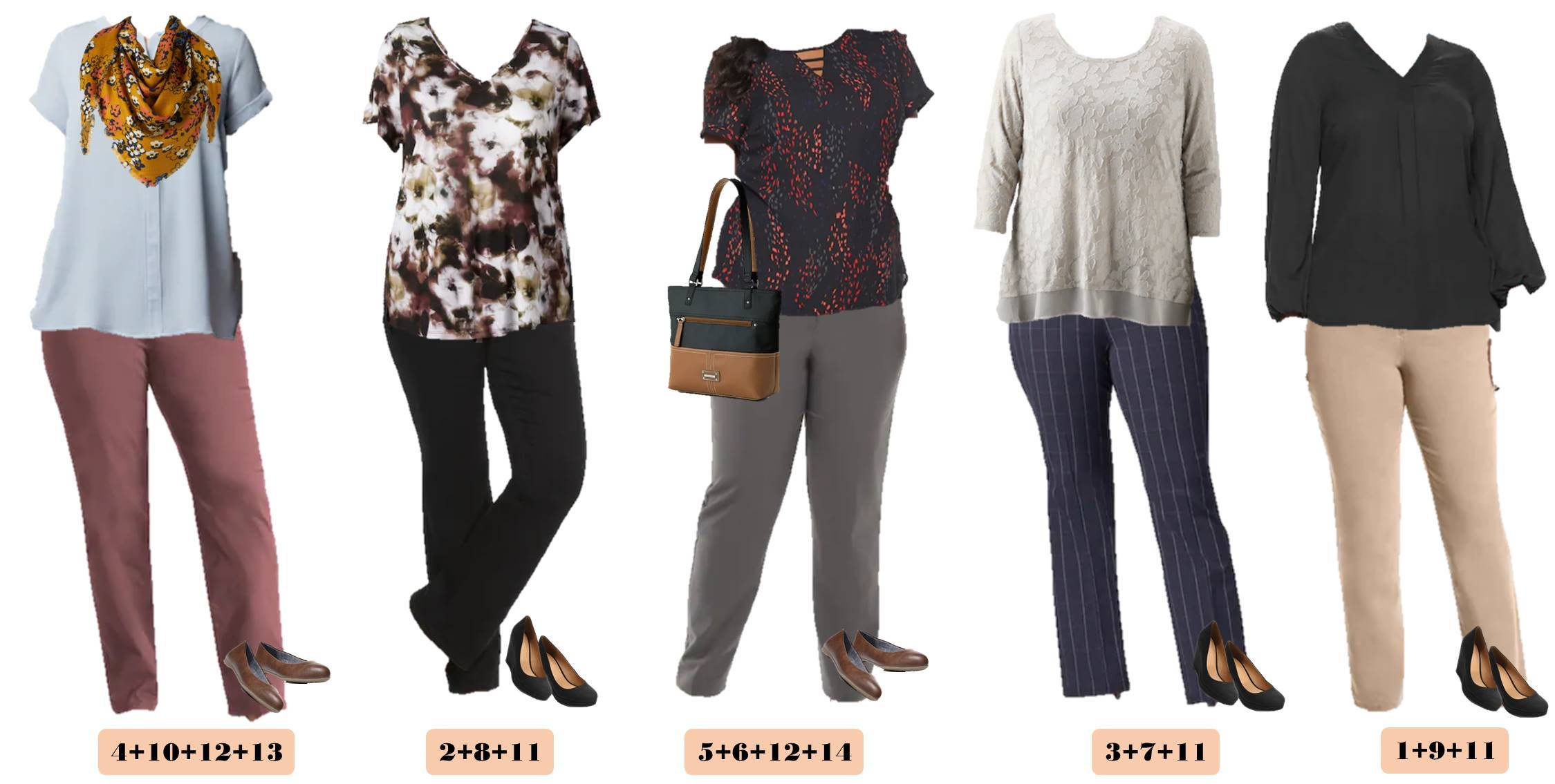 business casual women plus size