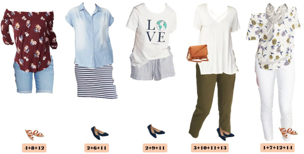 Mix and Match Old Navy Spring Outfits