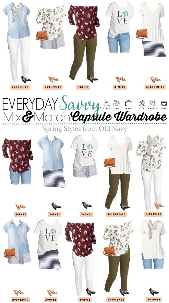 Old Navy Spring Outfits