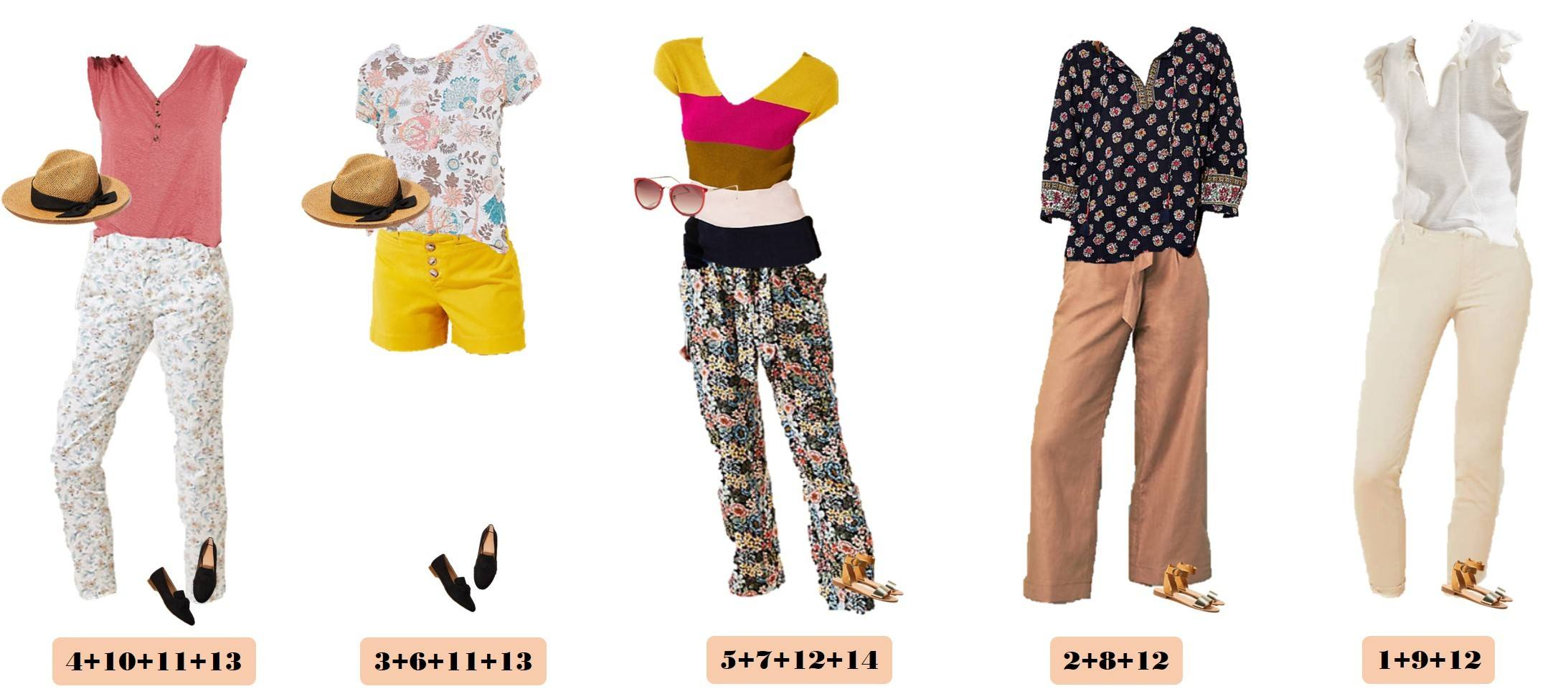 2020 spring capsule wardrobe