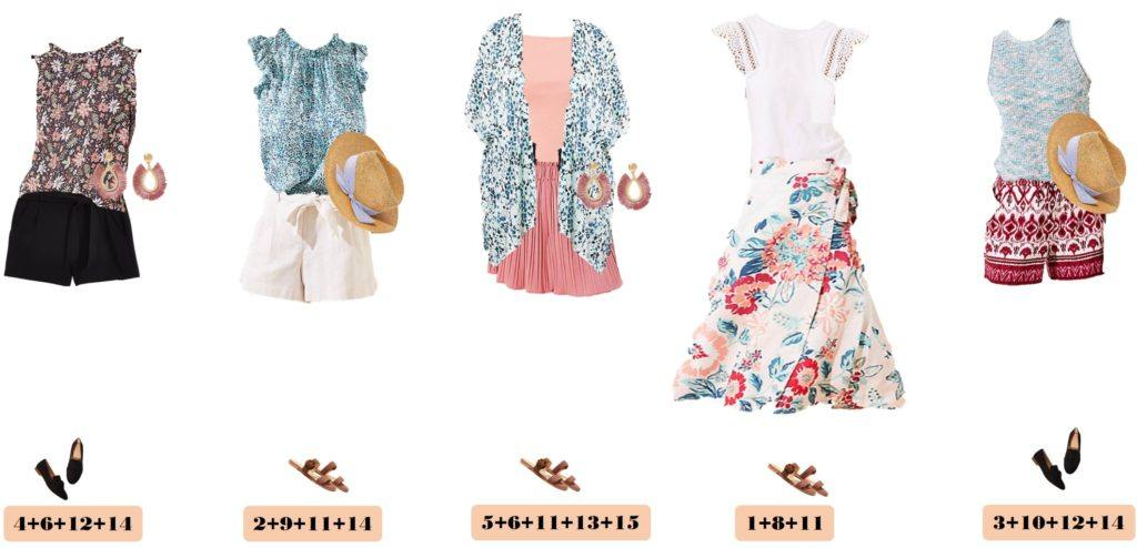 mis and match summer outfits