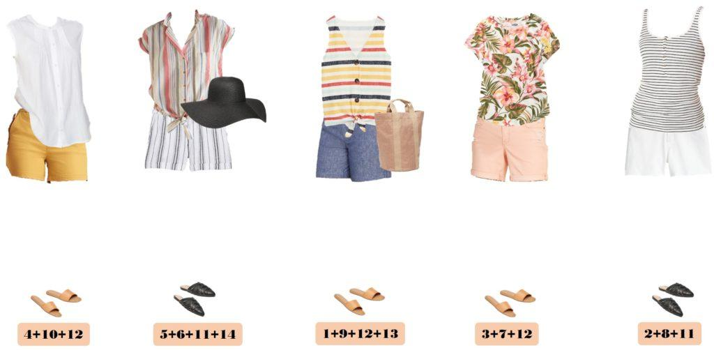 Old Navy short outfits