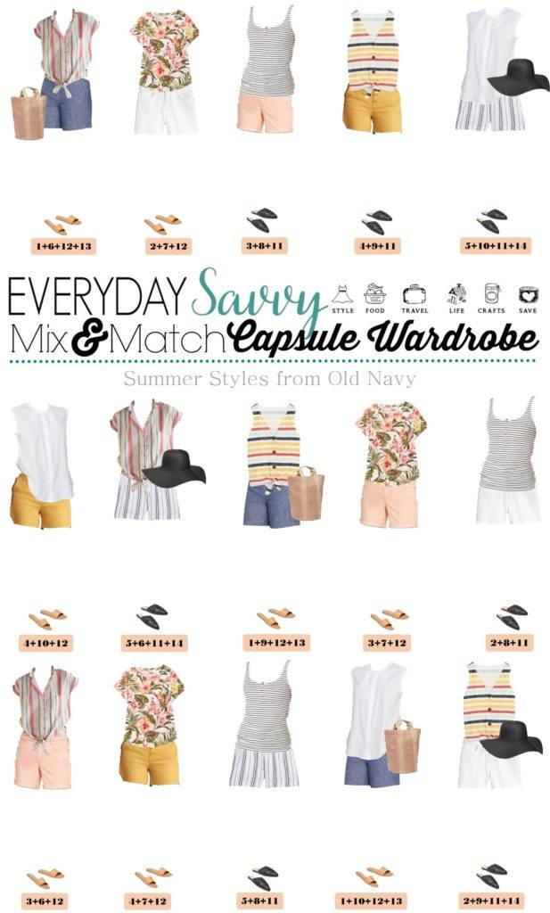 summer outfits from Old Navy