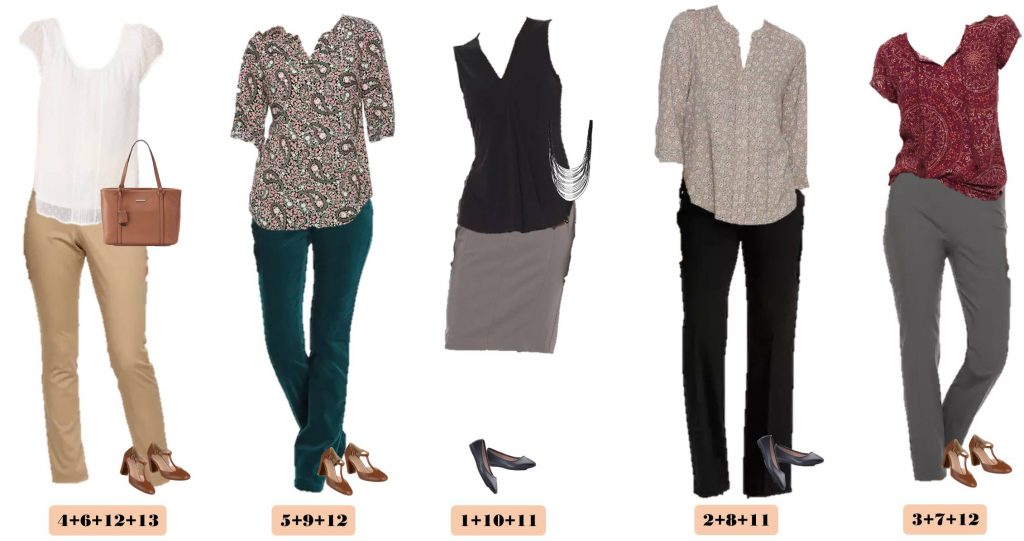 Kohls Business Casual Spring Outfits With Pops Of Color
