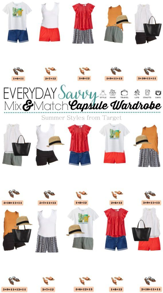 Target summer clothes - 15 mix and match cute summer outfits from Target
