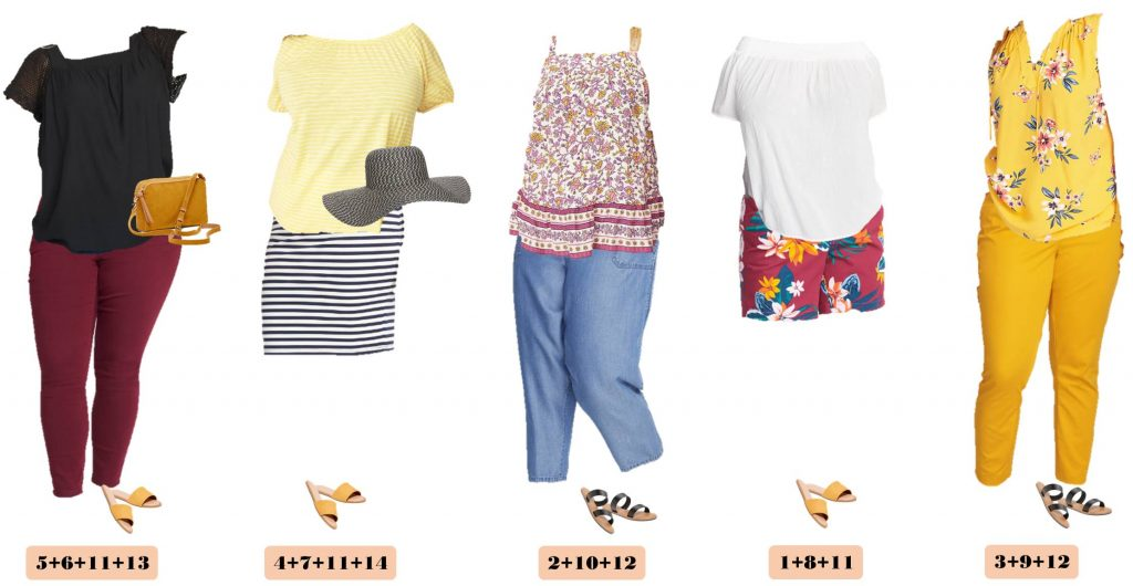 Summer Old Navy Plus Size Capsule Wardrobe - Summer Plus Size Outfits