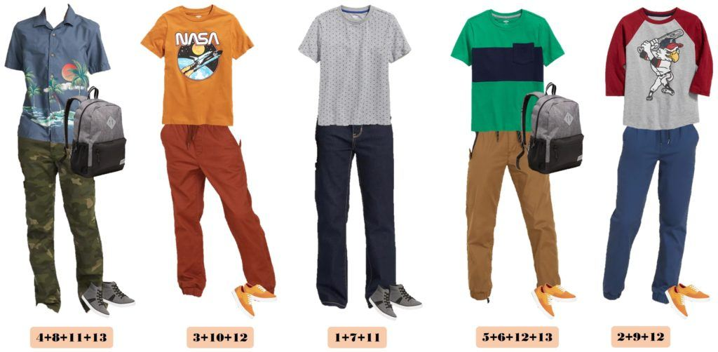 boys school outfits