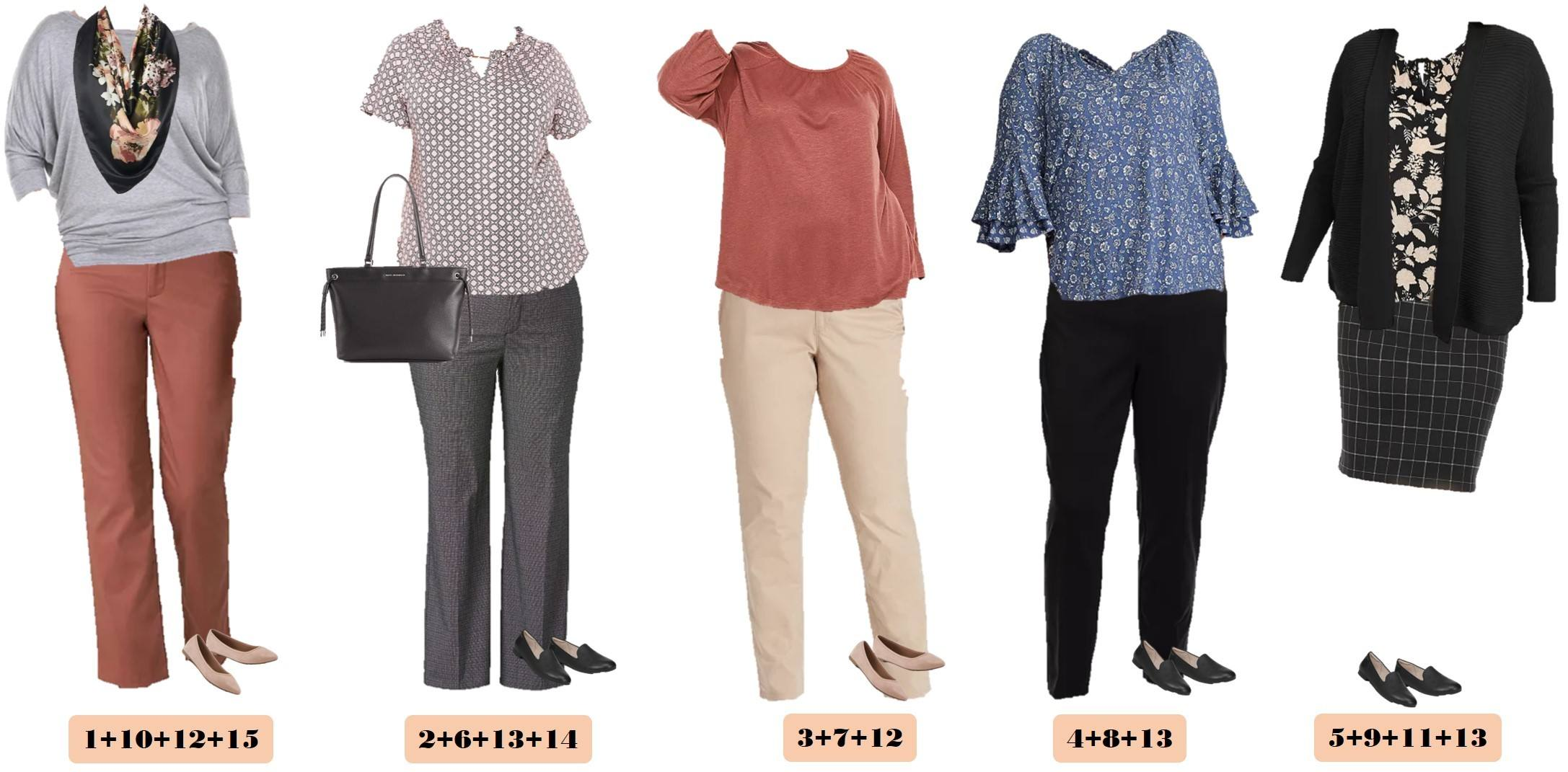 plus size outfits for fall business casual