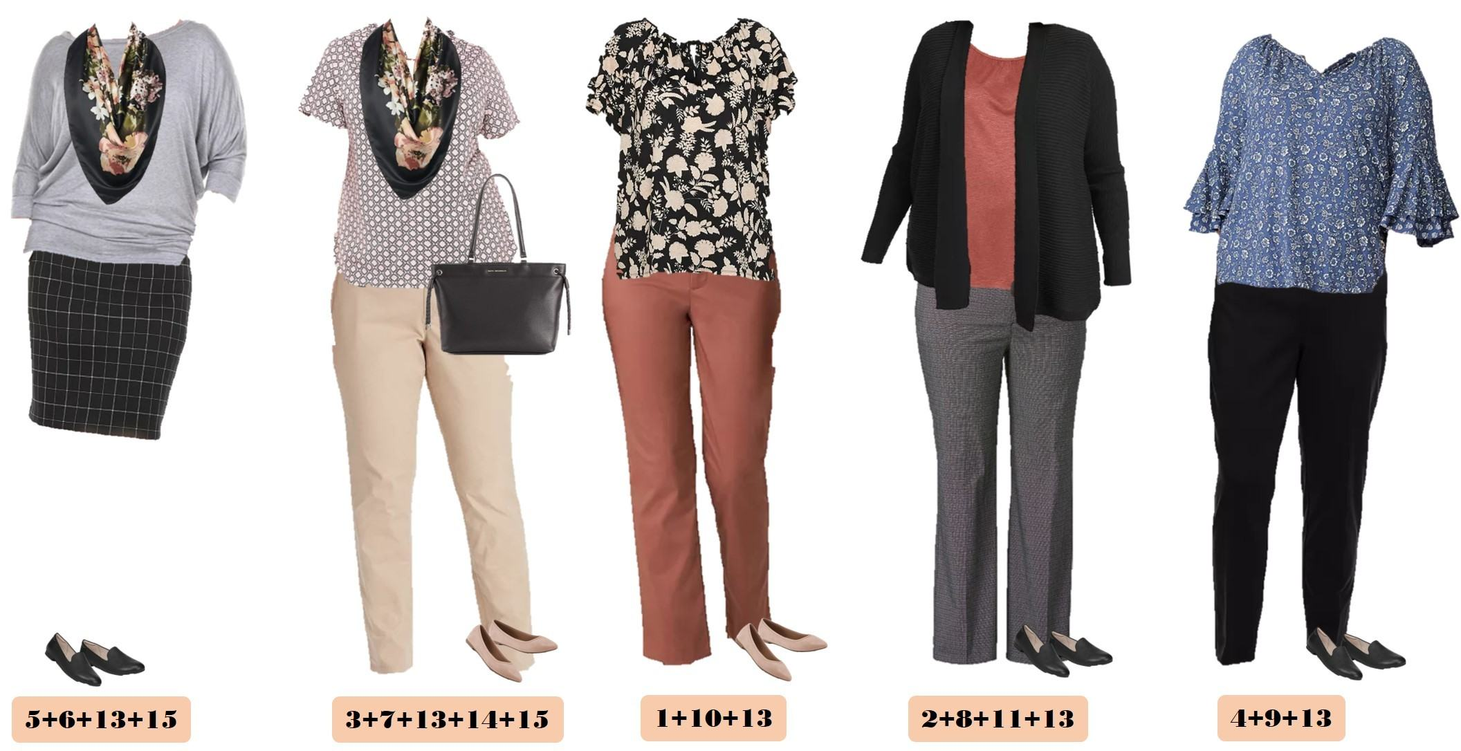 cute business casual plus size outfits