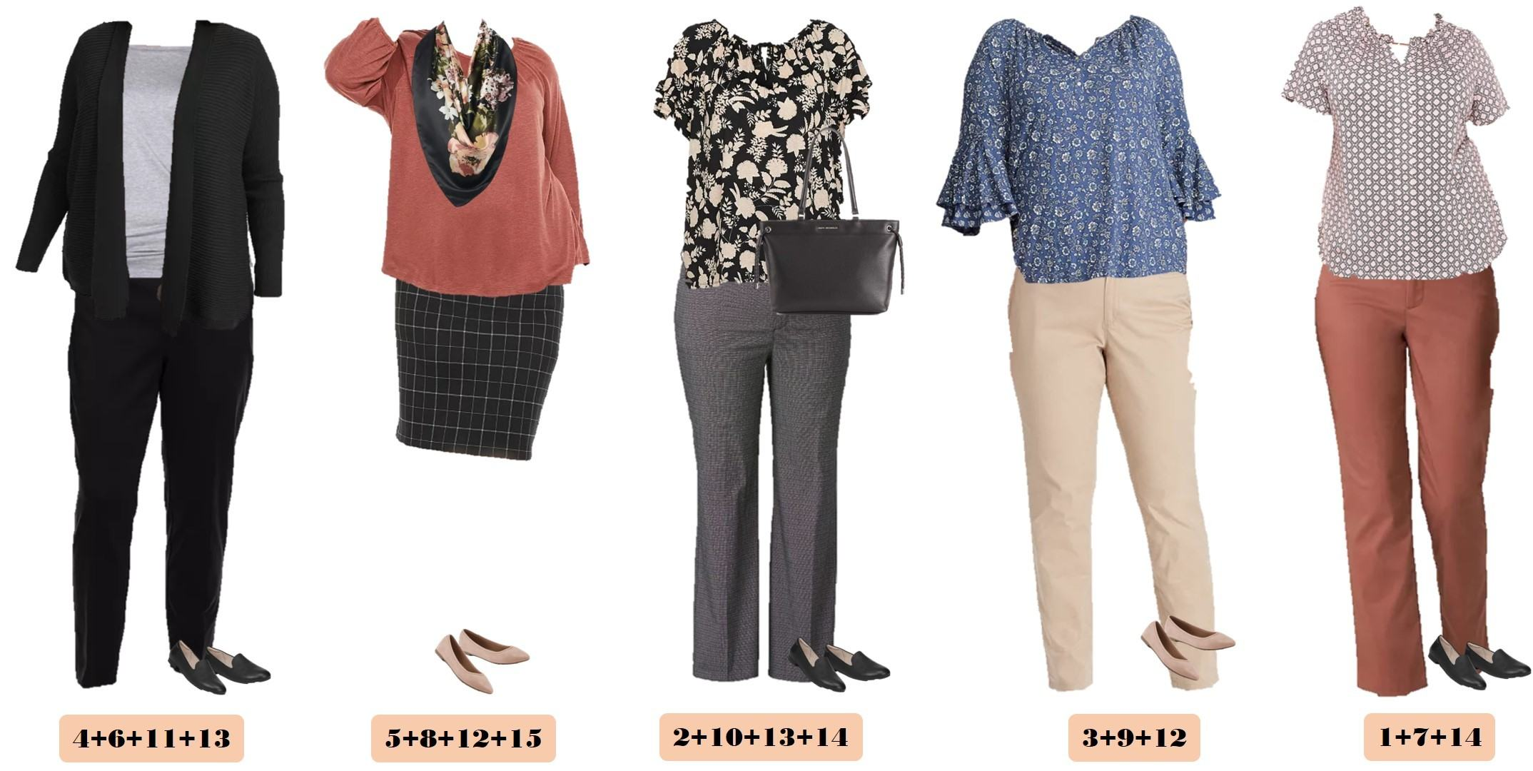 business casual plus size fall outfits