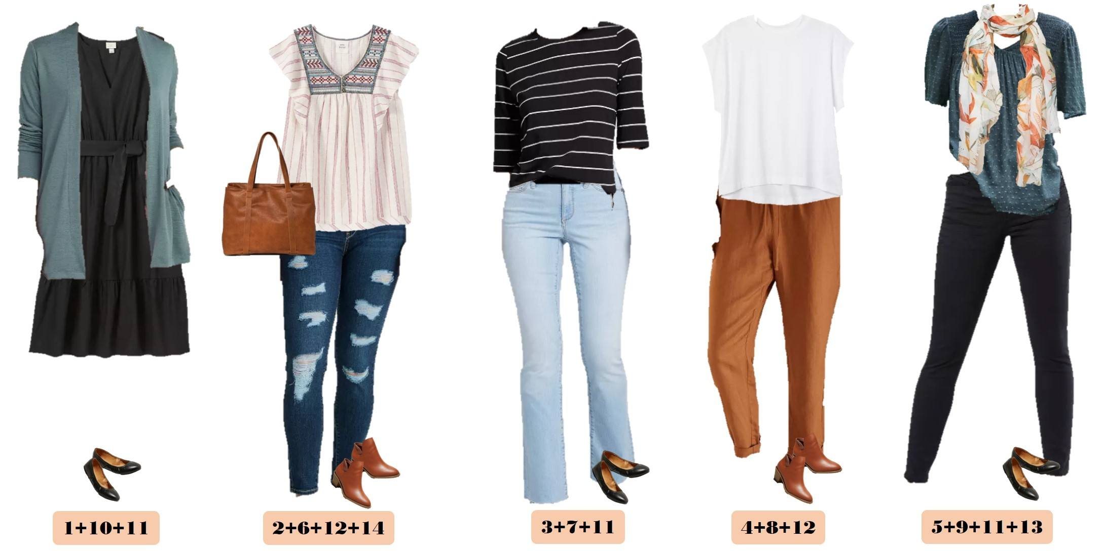 cute fall mix and match outfits