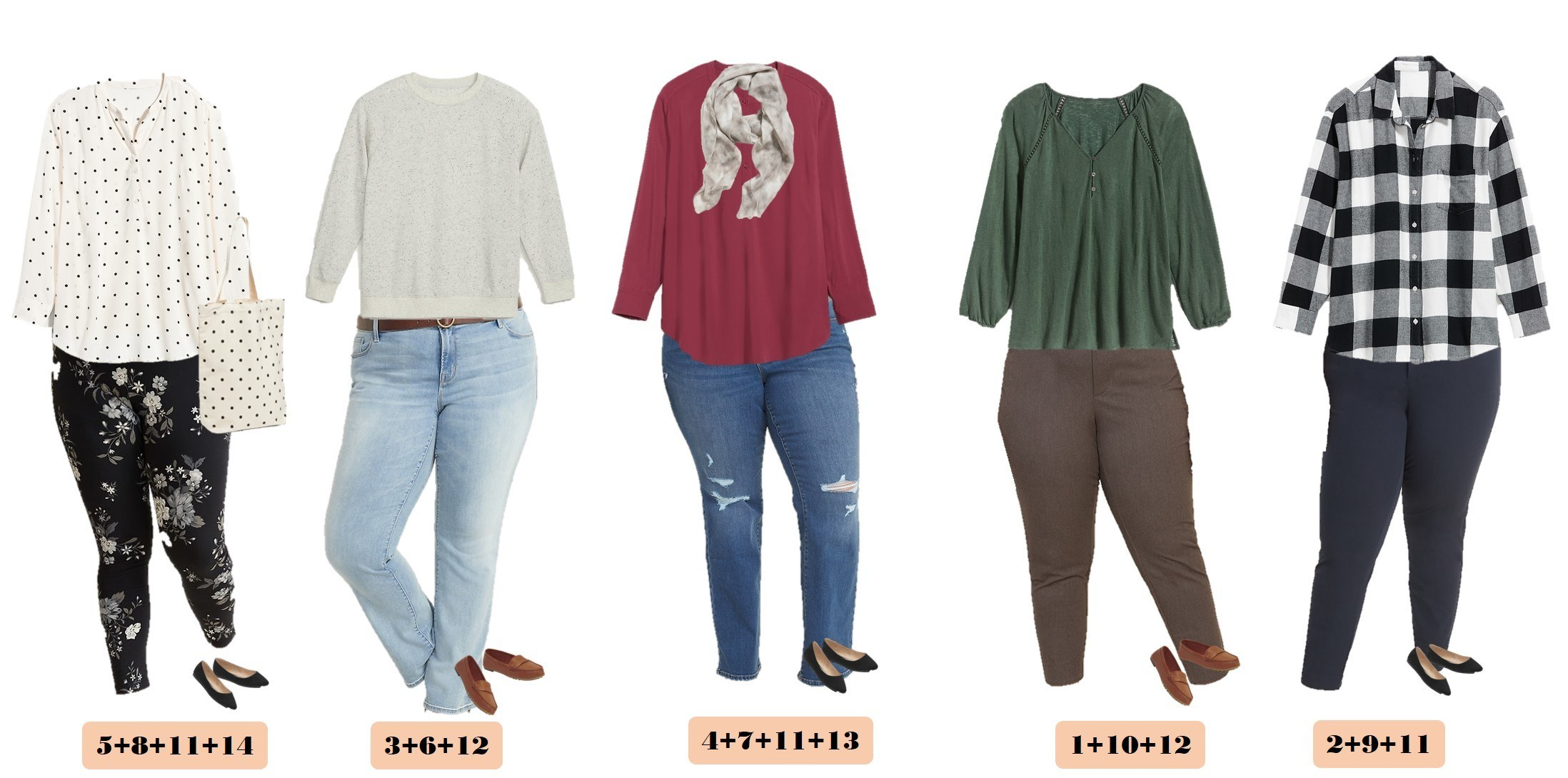 cute and casual plus size outfits for fall